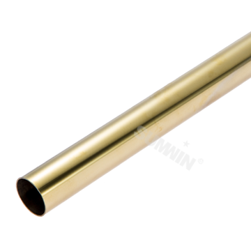 304 round polish stainless steel pipe for bathroom