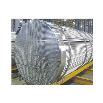 Stainless steel exchanger pipe