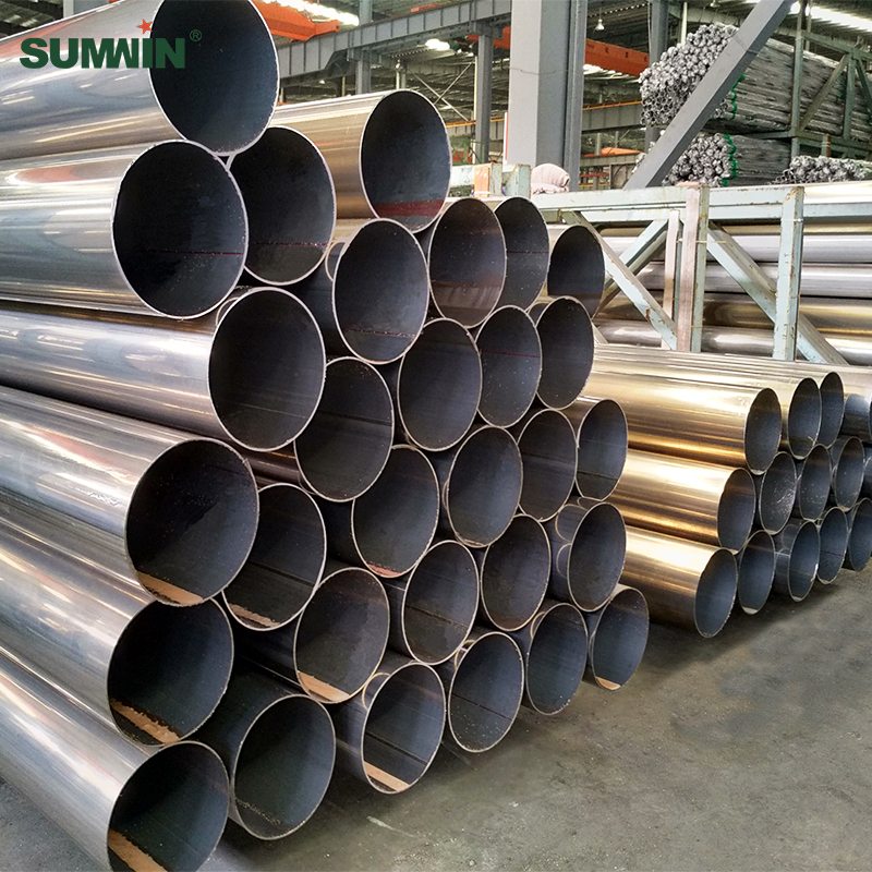 large diameter stainless steel round pipe